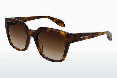 Ophthalmic Glasses Alexander McQueen AM0042S 002 - Brown, Havanna