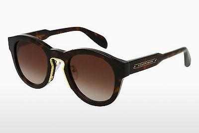 Ophthalmic Glasses Alexander McQueen AM0046S 004 - Brown, Havanna
