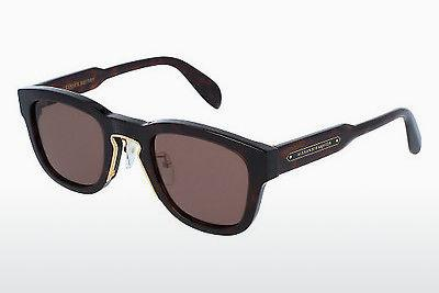 Ophthalmic Glasses Alexander McQueen AM0047S 004 - Brown, Havanna