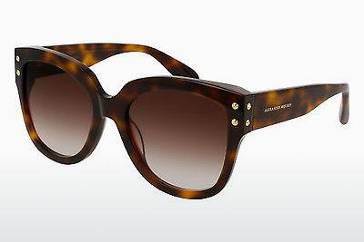 Ophthalmic Glasses Alexander McQueen AM0051S 004 - Brown, Havanna