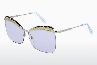 Ophthalmic Glasses Alexander McQueen AM0059S 001 - Silver