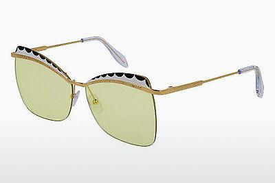 Ophthalmic Glasses Alexander McQueen AM0059S 005 - Gold