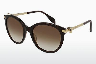 Ophthalmic Glasses Alexander McQueen AM0083S 002 - Brown, Havanna