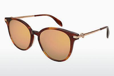 Ophthalmic Glasses Alexander McQueen AM0122SK 004 - Brown
