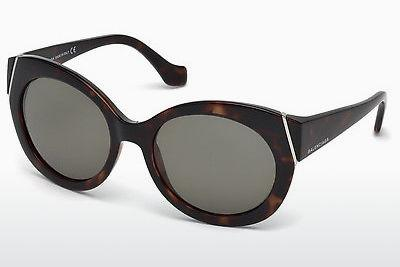 Ophthalmic Glasses Balenciaga BA0091 52N - Brown, Havanna