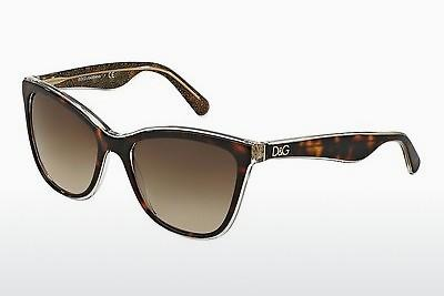 Ophthalmic Glasses Dolce & Gabbana LIP GLOSS (DG4193 273813) - Brown, Havanna, Gold
