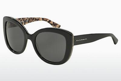 Ophthalmic Glasses Dolce & Gabbana ENCHANTED BEAUTIES (DG4233 285787) - Black, Leopard