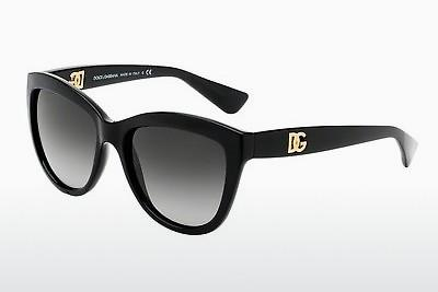 Ophthalmic Glasses Dolce & Gabbana LOGO EXECUTION (DG6087 501/8G) - Black