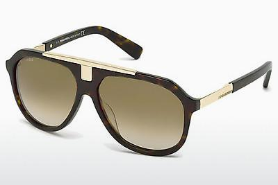 Ophthalmic Glasses Dsquared DQ0206 52P - Brown, Havanna