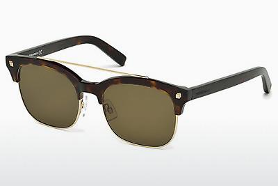 Ophthalmic Glasses Dsquared DQ0207 52K - Brown, Havanna