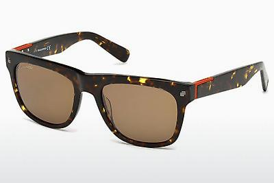 Ophthalmic Glasses Dsquared DQ0212 55G - Brown, Havanna, Multi-coloured