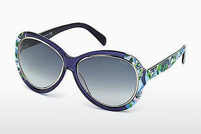 Ophthalmic Glasses Emilio Pucci EP0018 90W - Blue, Shiny