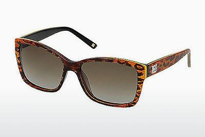Ophthalmic Glasses Escada SES307 0AFT - Brown, Leopard