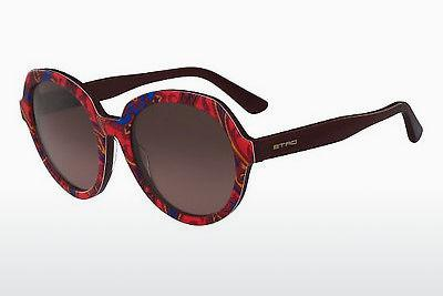 Ophthalmic Glasses Etro ET646S 607 - Red, Havanna, Multi-coloured