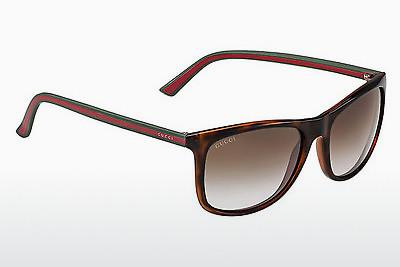 Ophthalmic Glasses Gucci GG 1055/S 0VY/TF - Brown, Havanna