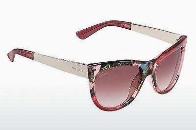 Ophthalmic Glasses Gucci GG 3739/S 2F6/16 - Pink, Flowers, Gold
