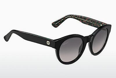 Ophthalmic Glasses Gucci GG 3763/S H2Y/EU - Black, Flowers, Grey