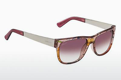 Ophthalmic Glasses Gucci GG 3802/S 2F6/16 - Pink, Flowers, Gold