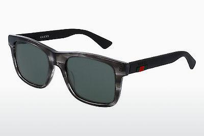 Ophthalmic Glasses Gucci GG0008S 004 - Grey