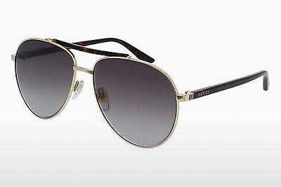 Ophthalmic Glasses Gucci GG0014S 002 - Gold