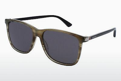 Ophthalmic Glasses Gucci GG0017S 006 - Brown, Havanna