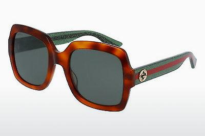 Ophthalmic Glasses Gucci GG0036S 003 - Brown, Havanna