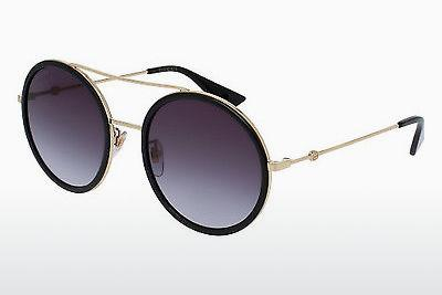 Ophthalmic Glasses Gucci GG0061S 001 - Gold