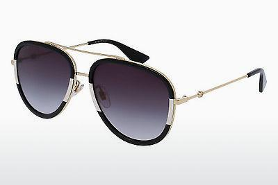 Ophthalmic Glasses Gucci GG0062S 006 - Gold