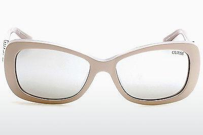 Ophthalmic Glasses Guess GU7453 57C - Horn, Shiny