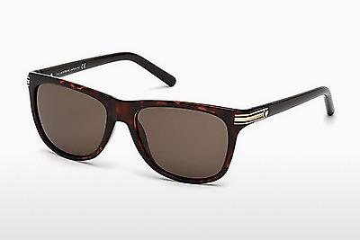 Ophthalmic Glasses Mont Blanc MB502S 52E - Brown, Dark, Havana