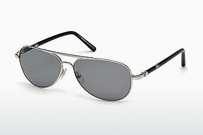 Ophthalmic Glasses Mont Blanc MB509T 16D - Silver, Shiny, Grey