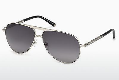 Ophthalmic Glasses Mont Blanc MB517S 16B - Silver, Shiny, Grey