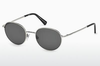 Ophthalmic Glasses Mont Blanc MB550S 16N - Silver, Shiny, Grey