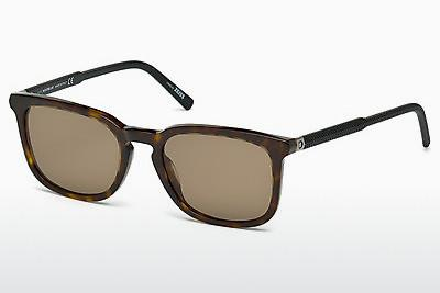 Ophthalmic Glasses Mont Blanc MB586S 52J - Brown, Havanna
