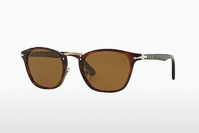 Ophthalmic Glasses Persol PO3110S 24/57 - Brown, Havanna