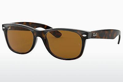 Ophthalmic Glasses Ray-Ban NEW WAYFARER (RB2132 710) - Brown, Havanna