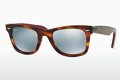 Ophthalmic Glasses Ray-Ban WAYFARER (RB2140 117830) - Brown, Havanna