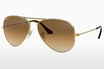 Ophthalmic Glasses Ray-Ban AVIATOR LARGE METAL (RB3025 001/51) - Gold