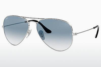 Ophthalmic Glasses Ray-Ban AVIATOR LARGE METAL (RB3025 003/3F) - Silver