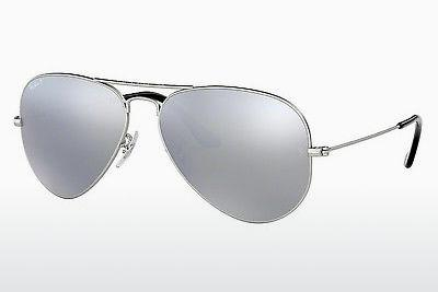 Ophthalmic Glasses Ray-Ban AVIATOR LARGE METAL (RB3025 019/W3) - Silver