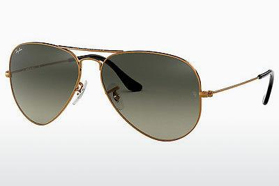 Ophthalmic Glasses Ray-Ban AVIATOR LARGE METAL (RB3025 197/71) - Brown