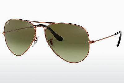 Ophthalmic Glasses Ray-Ban AVIATOR LARGE METAL (RB3025 9002A6) - Brown