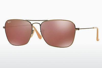 Ophthalmic Glasses Ray-Ban CARAVAN (RB3136 167/2K) - Brown