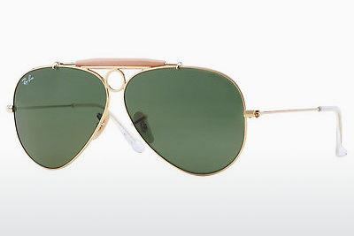 Ophthalmic Glasses Ray-Ban SHOOTER (RB3138 001) - Gold