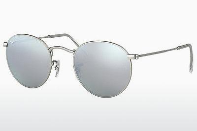 Ophthalmic Glasses Ray-Ban ROUND METAL (RB3447 019/30) - Silver
