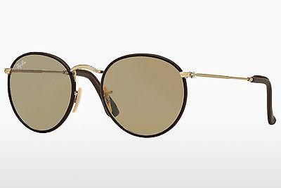 Ophthalmic Glasses Ray-Ban ROUND CRAFT (RB3475Q 112/53) - Gold, Brown