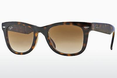 Ophthalmic Glasses Ray-Ban FOLDING WAYFARER (RB4105 710/51) - Brown, Havanna