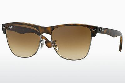 Ophthalmic Glasses Ray-Ban CLUBMASTER OVERSIZED (RB4175 878/51) - Brown, Havanna, Grey