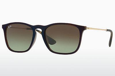 Ophthalmic Glasses Ray-Ban CHRIS (RB4187 6315E8) - Transparent, Brown, Blue
