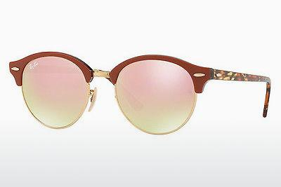 Ophthalmic Glasses Ray-Ban CLUBROUND (RB4246 12207O) - Gold